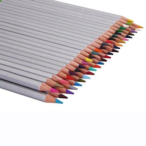 Colored Pencils 48 Color Art Drawing Set For Secret Garden Coloring Book