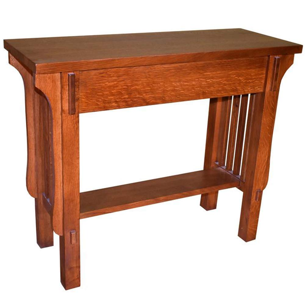 Amazon Com Arts Crafts Crofter Console Table Kitchen Dining