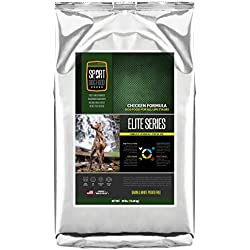 SportDogFood Elite Grain Free Dog Food, Chicken Formula, 30-Pound