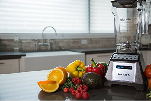 Blendtec Total Blender Classic, with FourSide Jar, Black by Blendtec (Image #3)