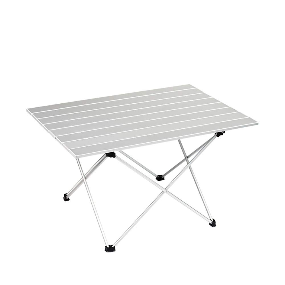 DEYE Table de Camping portable, Petite Table Pliante Ultra-légère avec Plateau de Table en Aluminium et Sac de Transport préfet pour pêche en Plein air