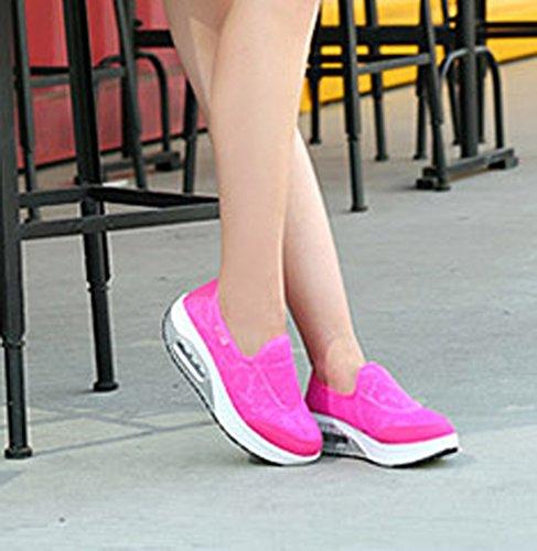 Plataforma Solshine Mujer Rosa de Malla PpdHwqp
