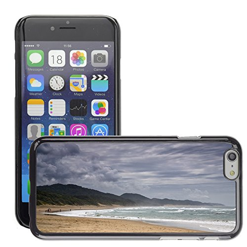 Hard plastica indietro Case Custodie Cover pelle protettiva Per // M00421629 Plage Côte Shore eau de mer de l'océan // Apple iPhone 6 6S 6G PLUS 5.5""