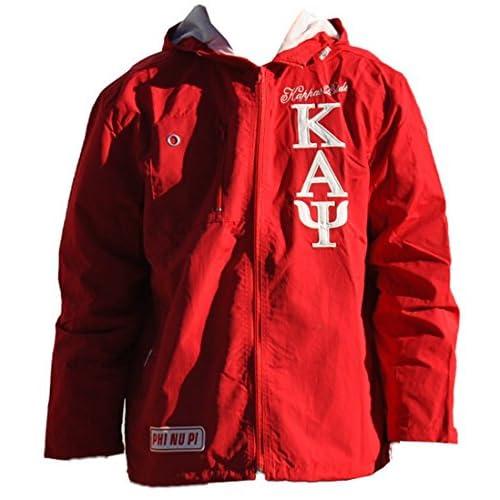 eeaa72910ba hot sale Kappa Alpha Psi Fraternity Men s Wind Breaker Crimson Red ...