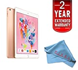 "Apple 9.7"" iPad Wi-Fi + Cellular 128GB 4G LTE (2018 Model) Gold"