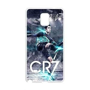 Hansome Cristiano Ronaldo Pattern Plastic Case For Samsung Galaxy Note4 by runtopwell