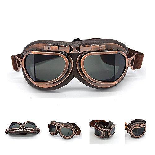 evomosa Motorcycle Goggles Vintage