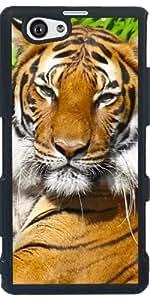 Funda para Sony Xperia Z1 Compact - Retrato Del Tigre by Pivi