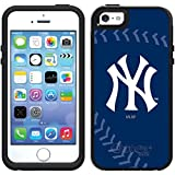 iphone 5 case new york yankees - Coveroo Symmetry Series Black Cell Phone Case for iPhone 5/5s - Retail Packaging - New York Yankees Stitch