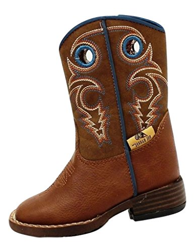 Double Barrel Toddler-Boys' Dylan Cowboy Boot Square Toe ...