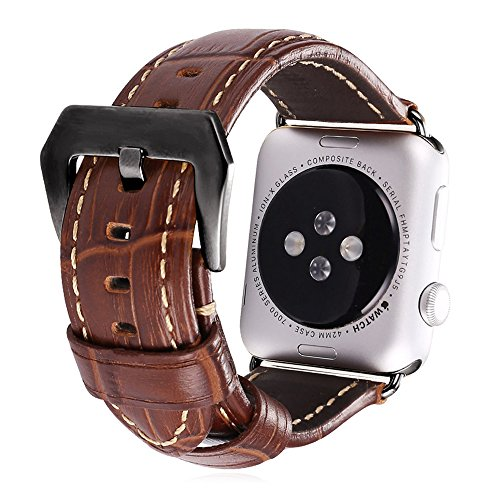 apple-watch-band-bandmax-brown-genuine-leather-watch-strap-replacement-for-apple-watch-42mm-all-vers