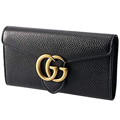 reputable site 29b33 05a01 Amazon | GUCCI(グッチ) 財布 GG Marmont 二つ折り 長財布 GG ...