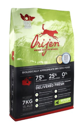 Orijen Senior Grain-Free Dry Dog Food, 15.4lb
