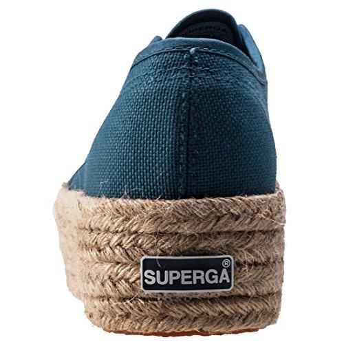 Superga S0099Z0 Unisex Blue Ginnastica Scarpe Adulto da Piattaforma con HRSZqU