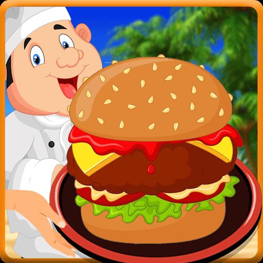 Burger Shop Restaurant : Burger Maker Cooking Game (Burger Foods King)