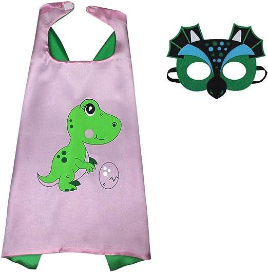 ParZ Kids Ali de Dinosaurio Disfraz y Fieltro máscara para Niñas ...