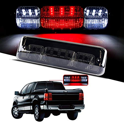 cciyu LED 3rd Brake Lights Cargo Lamp Assembly Automotive Tail Lights Smoke Lens Replacement fit for 2004-2008 ford F-150 2007-2010 ford Explorer Sport Trac 2006-2008 Lincoln Mark LT