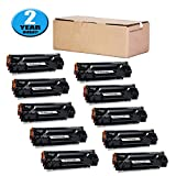 Compatible HP 85A CE285A Toner Cartridge Black by Hobbyunion Replacement for HP CE285A Laserjet (10PK)