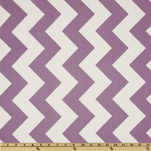 Riley Blake Designs Riley Blake Chevron Large Fabric by The Yard, Lavender