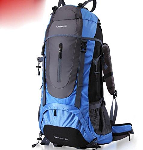 Wanderrucksack Rucksack Rucksack 65 l outdoor-Reisen camping Wandern Tasche Sport