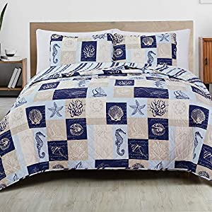 51BaKn-K0FL._SS300_ Coastal Bedding Sets & Beach Bedding Sets