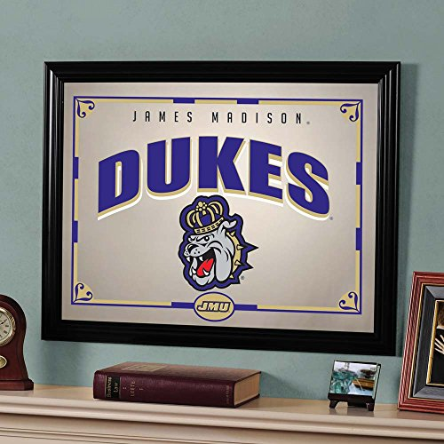 The Memory Company NCAA James Madison University Official Mirror, Multicolor, 23 x 18 by The Memory Company