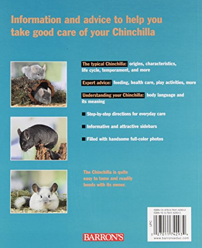 Chinchillas (Complete Pet Owner's Manual) 2