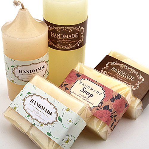 Wrap Paper Labels Soap Packaging Materials Homemade
