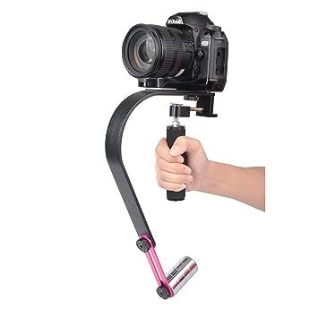 litfad cámara estabilizador de mano para cámaras réflex digitales ...