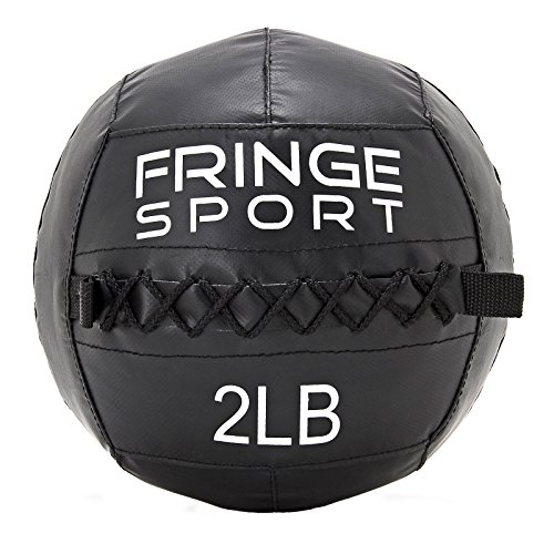 Kid's Medicine Ball by FringeSport/For Strength, Conditioning, CrossFit, More/Youth Fitness Equipment (2)