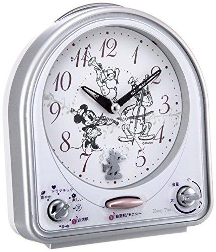 SEIKO CLOCK(세이코 clock) Disney멜로디 자명종(은색) FD464S