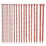 Knit Picks Wood Straight Knitting Needles Set 9-Pairs 10