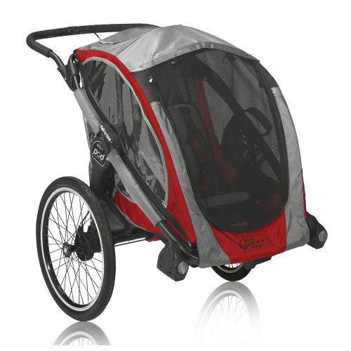 Baby Jogger 2013 POD Chassis, Crimson/Gray by Baby Jogger