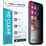 Tech Armor Apple iPhone X (iPhone 10) 4Way 360 Degree Privacy Film Screen Protector [1-Pack]
