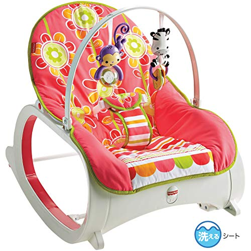 Fisher-Price Infant-to-Toddler Rocker, Floral Confetti for sale  Delivered anywhere in Canada