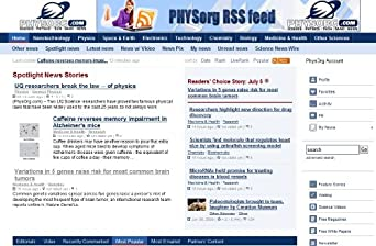 Phys.org - Biology and Chemistry News
