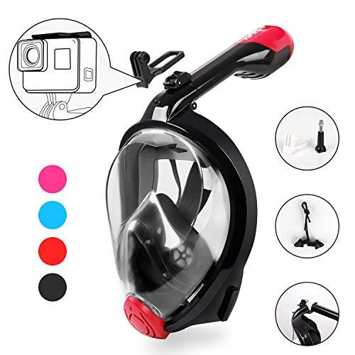 HEETA Snorkel Mask 2.0 Version 2018 New Foldable 180