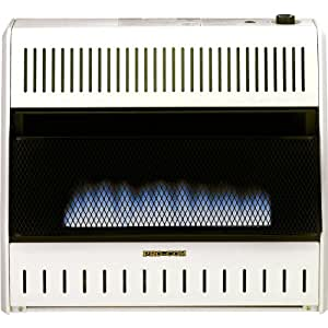 Please see replacement Item# 49195. ProCom Blue Flame Vent-Free Wall Heater - 30,000 BTU Output, 1000 Sq. Ft. Heating Capacity, Model# MD300TBA