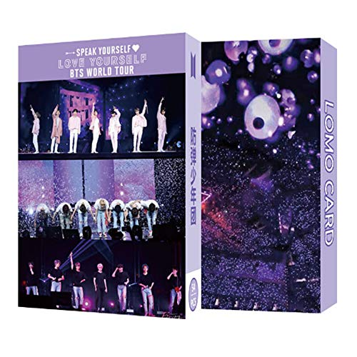 54 PCS Kpop Lomo Cards Bangtan Boys Postcard Photo Set Gift for A.R.M.Y