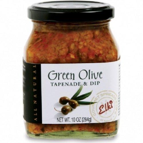 Elki's Gourmet Green Olive Tapenade, 10 Ounce by Elki's Gourmet