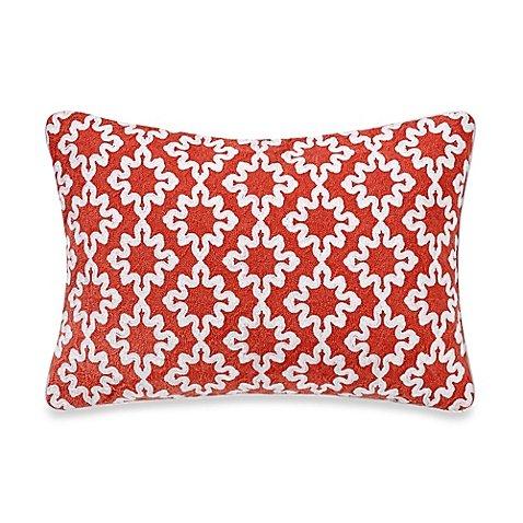 Anthology Jodhpur Ogee Rectangular Throw Pillow in Orange, 1