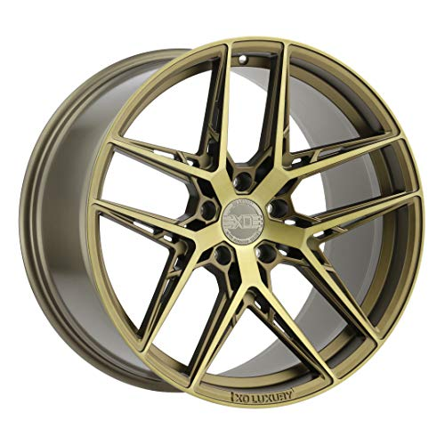 XO LUXURY Cairo Bronze Wheel with Painted Finish (20 x 9.5 inches /5x120 mm, 25 mm Offset)