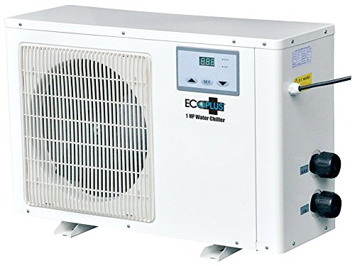 EcoPlus 728708 Commercial Grade Water Chiller, 1 hp by EcoPlus