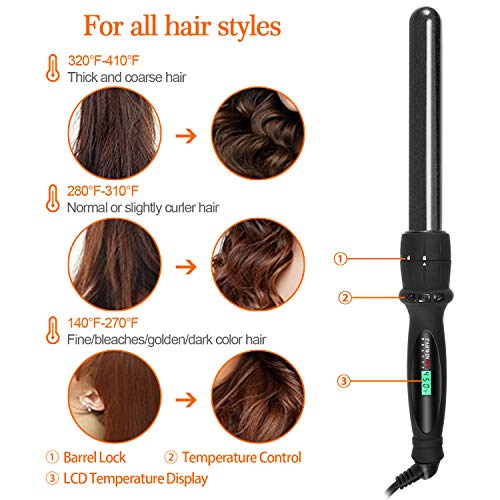 Buy curling iron with interchangeable barrels