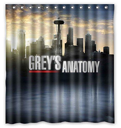 Greyu0027s Anatomy 66 By 72 Inch Shower Curtain Amazing Decorate Your Bathroom