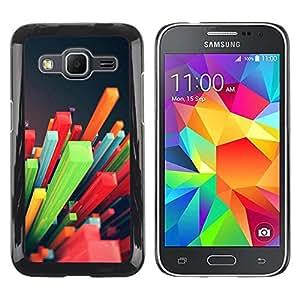 Be Good Phone Accessory // Dura Cáscara cubierta Protectora Caso Carcasa Funda de Protección para Samsung Galaxy Core Prime SM-G360 // Colorful Pattern