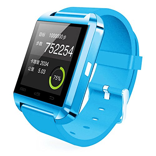 UPC 728150992555, [Prime] U8 Bluetooth V4.0 Bluetooth Wrist Smart Watch WristWatch UWatch for IOS Android iPhone 4/4S/5/5C/5S Samsung S2/S3/S4/Note 2/Note 3 HTC Sony Blackberry,Sky blue