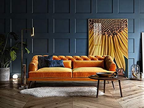Kunstloft® fotografía artística enmarcada Sunflower ...