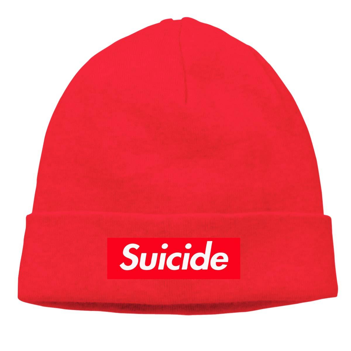 BBlooobow Unisex Suicide Soft Knit Caps