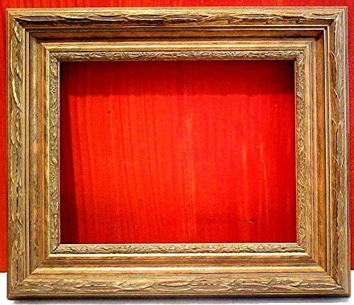 StandardPictureFrames 11 X 14 Standard Picture Frame Classic Carved Gold Leaf 2 3/4